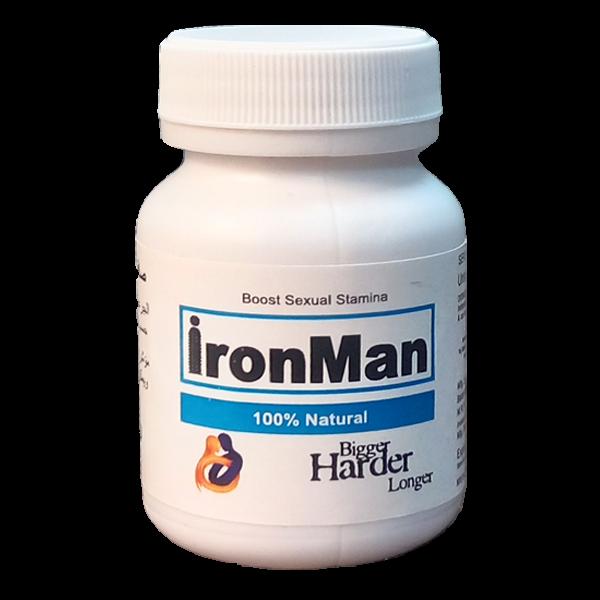Ironman Penis Enlargement Caps Ling Booster