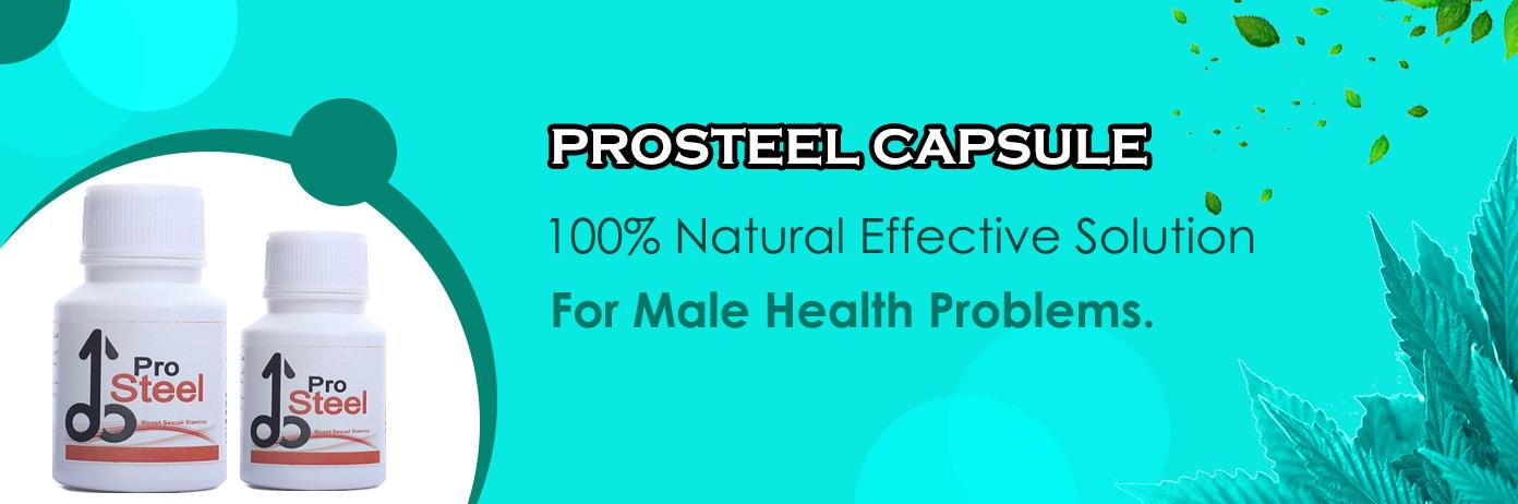 Prosteel Capsule For Men Health Problem