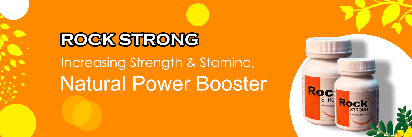 Rock strong Natural Power Booster